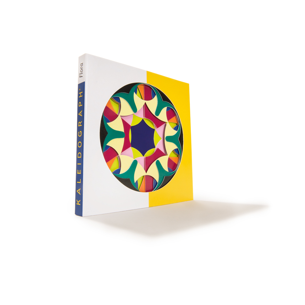 Kaleidograph Toy's Flora series: kaleiscope-like art patterns
