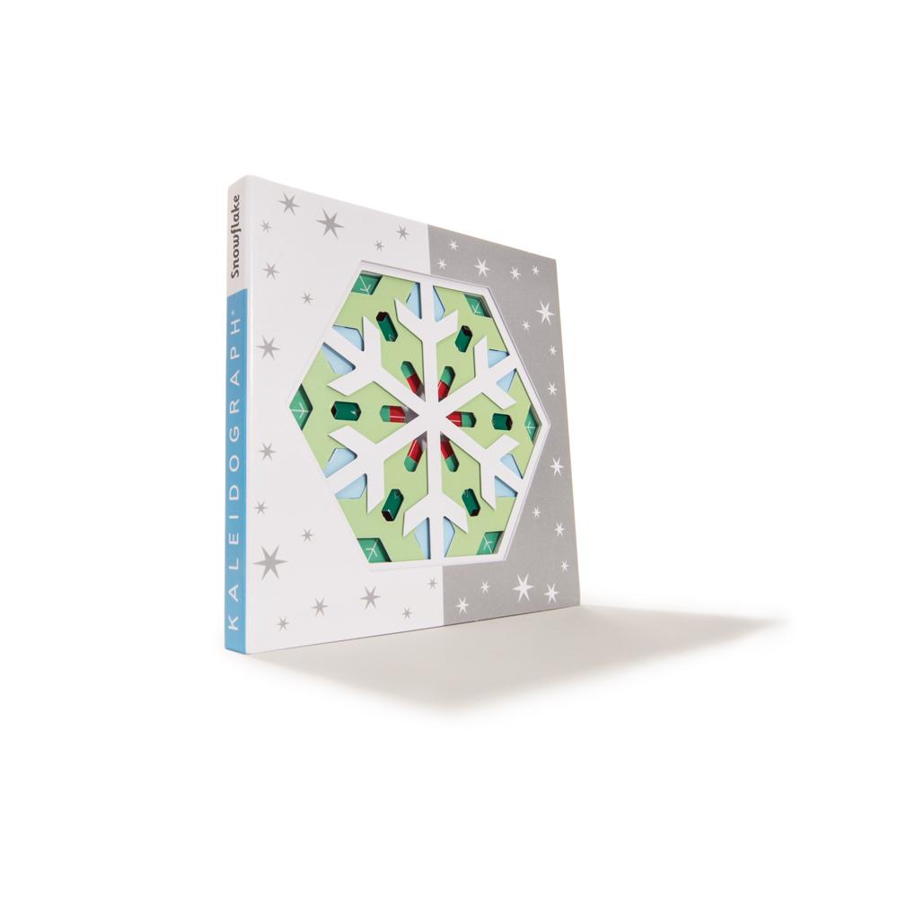 Kaleidograph Toy's Snowflake Art Patterns. Kaleidoscope-like art games for kids